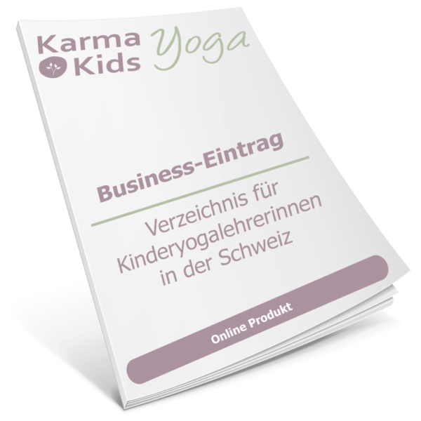 Kinderyoga Business Eintrag