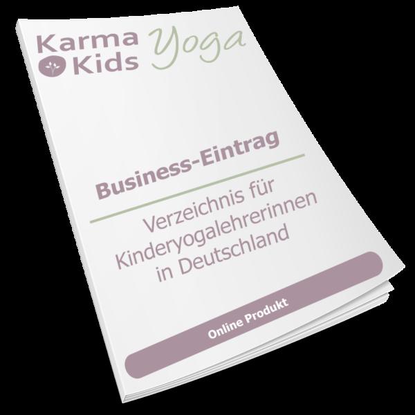 Kinderyoga Business Eintrag Deutschland