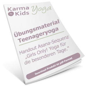 Teenageryoga Handout - Asana girls only