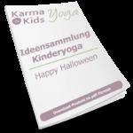 kinderyogastunde halloween