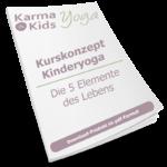 kinderyoga stundenbilder 5 elemente