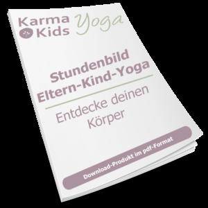 eltern kind yoga stundenbild körpergefühl