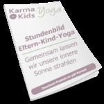 eltern kind yoga stundenbild innere sonne
