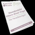 eltern kind yoga stundenbild paradiesvogel