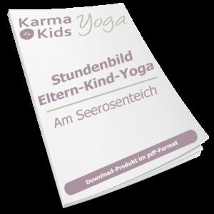 eltern kind yoga stundenbild achtsamkeit