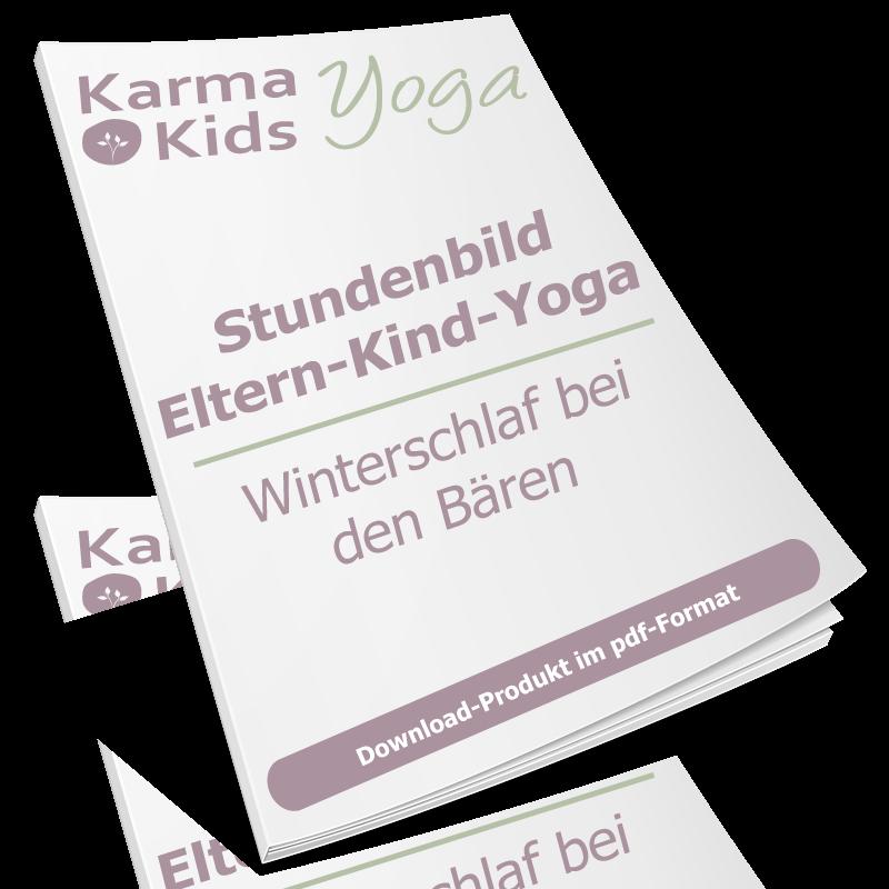 Eltern Kind Yoga Stundenbild Winterschlaf Bei Familie Bar