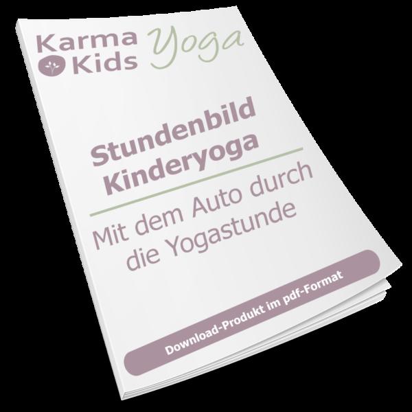 stundenbild yoga kinder auto