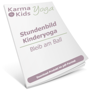 stundenbild yoga kinder ball