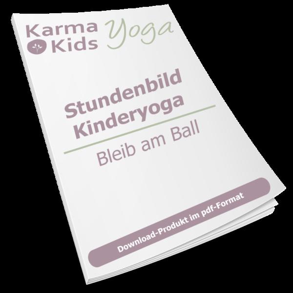 stundenbild yoga kinder ball
