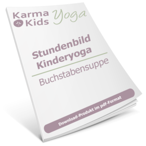 stundenbild yoga kinder buchstaben