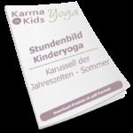 Stundenbild Kinderyoga Sommer