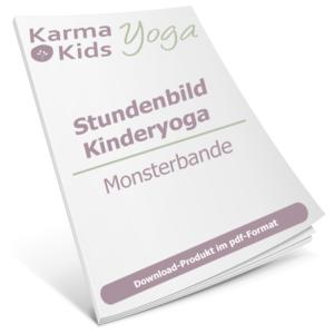 Stundenbild Kinderyoga - Monsterbande