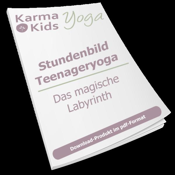 yoga jugendliche stundenbild labyrinth