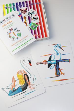 Yogakarten für Kinder von Sibylle Schöppel